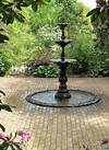 Ladew Garden Victorian Garden Fountain   Victorian gardens victorian garden fountain