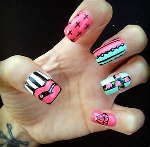 58 best Cross nail design images on Pinterest   Pretty ...