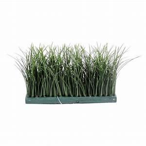 Grande Plante Artificielle : herbe haute artifcielle de 19 cm de haut 30 cm de large pour ext rieur ~ Teatrodelosmanantiales.com Idées de Décoration