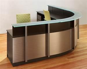 Wrap Reception Desk Modern Wood Glass Reception Desk Stoneline Design Modern Front Desk Supervisor