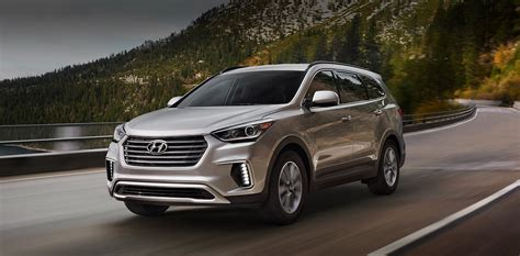 Here are the 2019 hyundai santa fe xl rankings for mpg, horsepower, torque, leg room, head room, shoulder room, hip room and so forth. 2019 Hyundai Santa Fe XL review   GearOpen