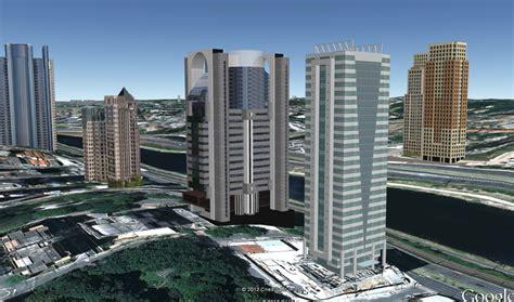 Cidade 3d Novos Prédios Ge Em São Paulo Setembro 2012