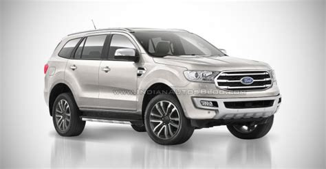 ford endeavour  ford everest iab rendering