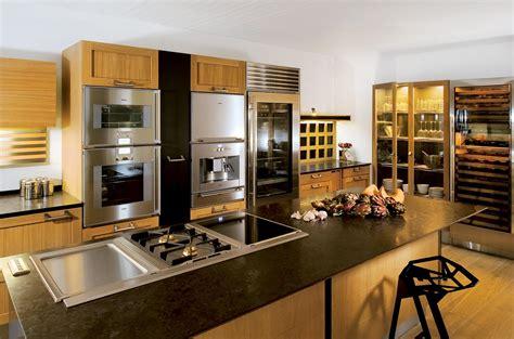 cuisine paul cuisine avec îlot central technique association chêne et