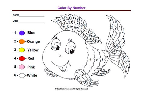 Preschool Colors, Kindergarten Coloring Worksheets