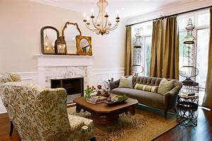Country, Style, Living, Room, Furniture, Ideas, 6