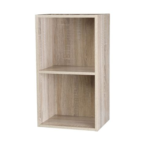 Bookcase 2 Shelf by 2 3 4 Tier Wooden Bookcase Shelving Display Shelves