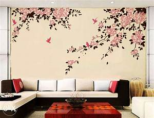 Wall painting designs for bedroom decoration ideas