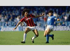 Ruud Gullit Diego Maradona AC Milan Napoli Goalcom