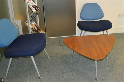 verco smile reception chairs and coffee table fabric