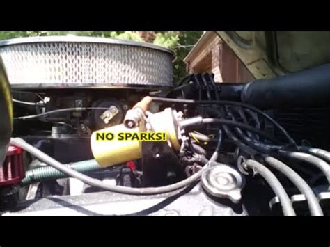 spark  start  problem ignition systems youtube
