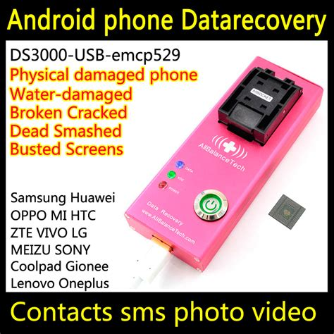 restore android phone data recovery android phone ds3000 usb3 0 emcp529 tool for
