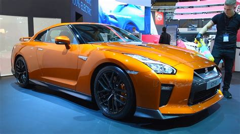New Nissan Skyline 2018 by Nissan Skyline Gt R High Tech Sports Car On Display During