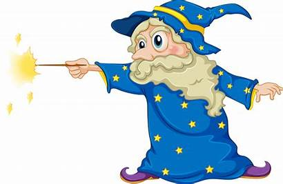 Wizard Wand Magic Holding Transparent Vector Clipart