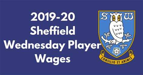 Sheffield Wednesday 2019-20 Player Wages - Football League ...