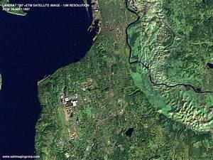Satellite Image of Everett, Washington Landsat | Satellite ...