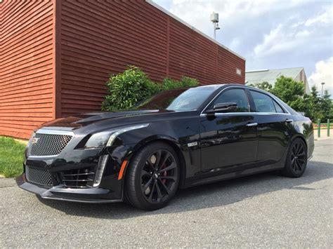 2016 cadillac cts v all black everything automotive rhythms