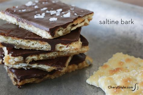 sweet and saltines salty chocolate bark everyday dishes