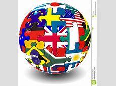 Jigsaw Flag Globe Royalty Free Stock Photos Image 17973588