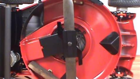 replacing  blade   toro lawn mower