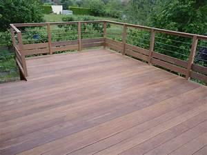 Terrasse En Ipe : terrasse suspendue en ipe nos conseils ~ Premium-room.com Idées de Décoration