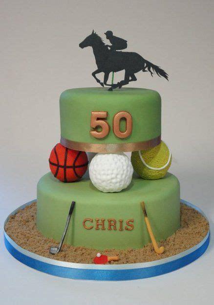 multi sports cake golf hockey tennis basketball