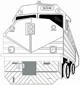 Train Coloring Coloriage Tunnels Template sketch template