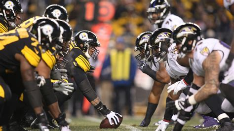 steelers  ravens time tv schedule  game information