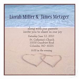 seal and send beach wedding invitations to set the tone With free printable beach themed wedding invitations