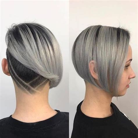coolest undercut bob haircuts  women