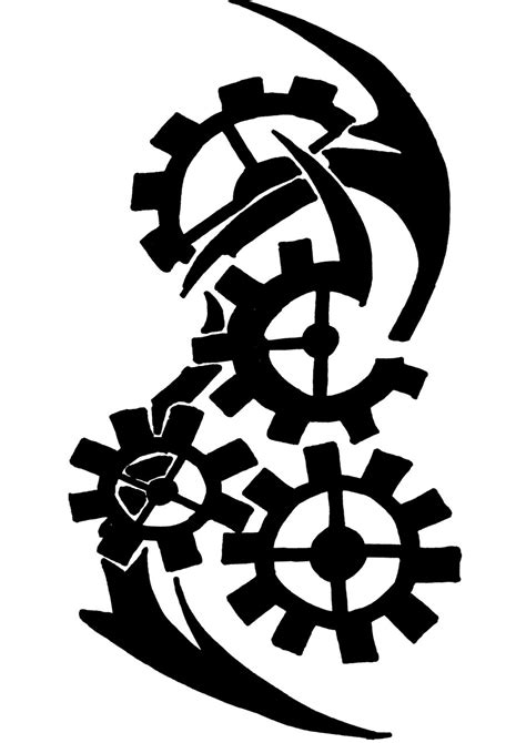 Gear Tattoos Designs, Ideas and Meaning | Tattoos For You