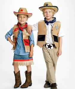 Cowgirl and Sheriff | Simple Halloween Costumes - Real Simple