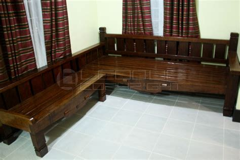 living room weathered style daybed  bench  shaped