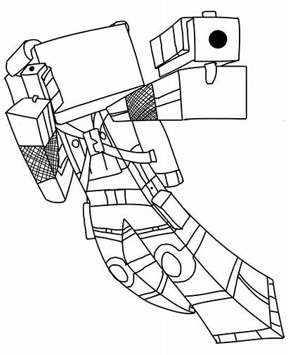 Minecraft Coloring Pages Boys