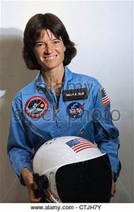 Astronaut Sally K. Ride, mission specialist for STS-7 ...