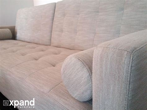 tilt sofa bed  tufted upholstery expand