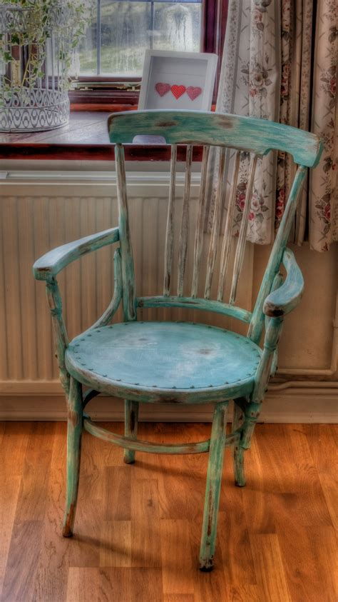 how to shabby chic a chair captain s chair finally finished cottage shabby chic