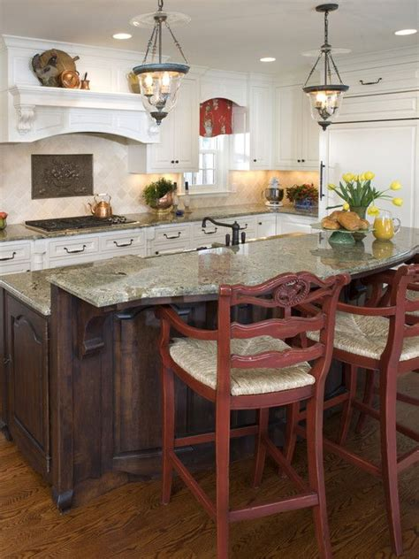 country kitchens with islands kitchen island ideas not the style but the amount of