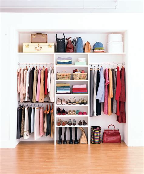 Organizing Closet Space by How To Maximize Your Closet Space Real Simple