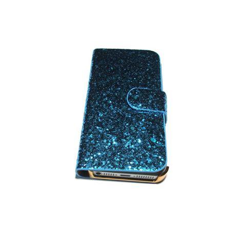 glitter sparkly flip wallet case  iphone