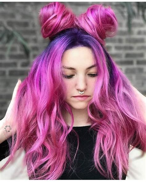 The 25 Best Bright Pink Hair Ideas On Pinterest Hot