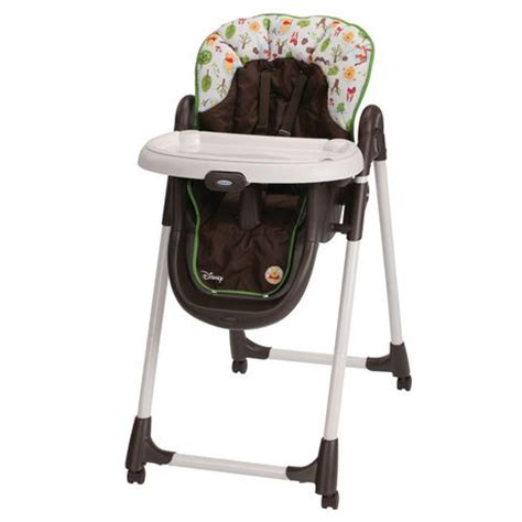 Graco Winnie The Pooh High Chair Canada by Graco 174 Mealtime High Chair Woodland Pooh Walmart Ca
