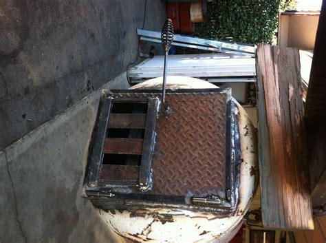 building   gallon bbq smoker   plasma cutter