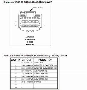 Dodge Factory Radio Wiring Diagram Stereo  Dodge Speaker