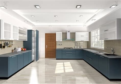 acrylic finish modular kitchen  rs
