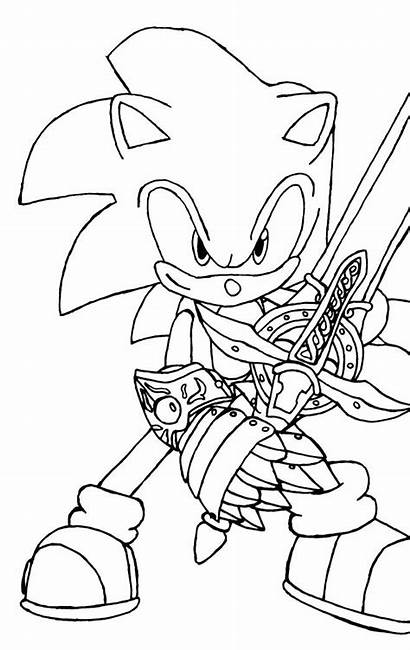 Sonic Coloring Printable Cartoons