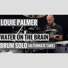 Louie Palmer  Drum Solo Alternate Take Of Water On The Brain, Pt 2 By Allan Holdsworth Youtube