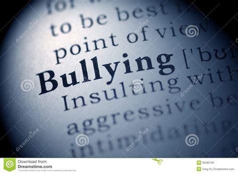 Bullying Stock Photo. Image Of Definition, Macro
