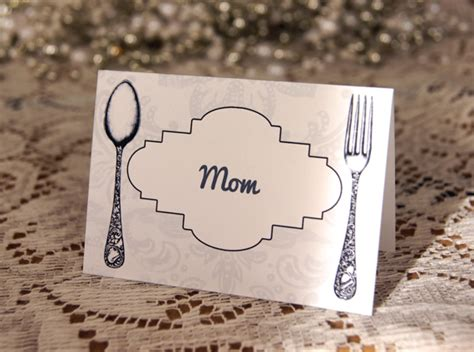 printable thanksgiving place cards call  victorian