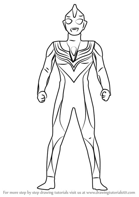 Ultramannexus Free Colouring Pages